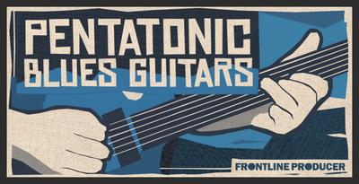 Pentatonic Blues Guitars (Frontline)