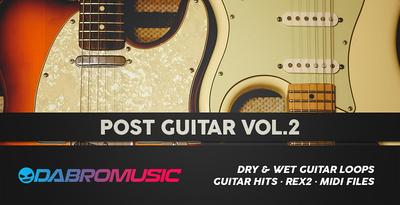 Post Guitar Vol. 2 (DABRO Music)