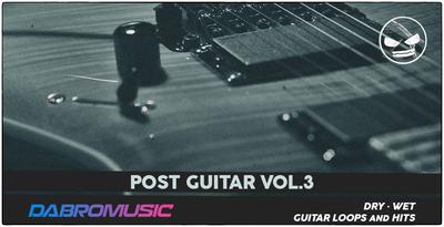 Post Guitar Vol. 3 (DABRO Music)