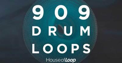 909 DRUM LOOPS (House Of Loop)