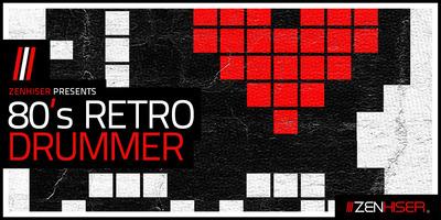80's Retro Drummer (Zenhiser)
