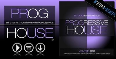 Studio Essentials - Progressive House (Zenhiser)